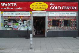 Wants Gold Centre 91 New George St Plymouth
